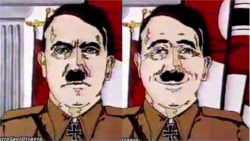 Hitler nelle pubblicità delle caramelle flavoral