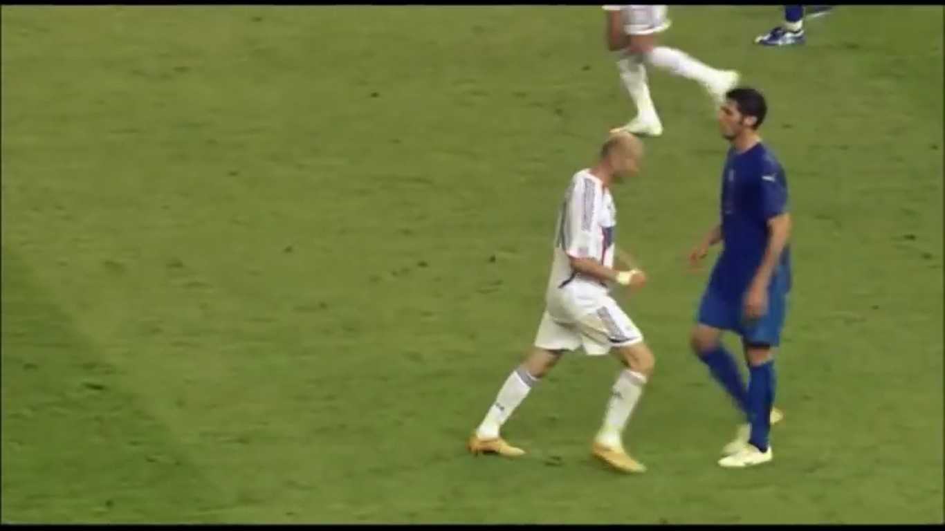 Testata di Zidane a Materazzi - Mondiali 2006
